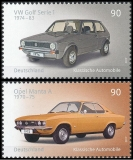 FRG MiNo. 3297-3298 set ** Classic German Automobile, MNH