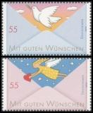 FRG MiNo. 2790-2791 set ** Post: Greeting Stamps (II), MNH