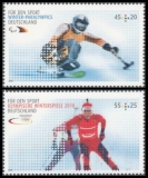 FRG MiNo. 2781-2782 ** Sports help (I): Games in Vancouver, MNH