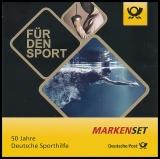 BRD MiNr. MH 106 (3307-3309) ** 50 J. Dt. Sporth., Marken-Set, nasskl.,postfr.