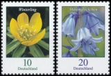 FRG MiNo. 3314-3315 set ** Series Flowers: Winterling & Bluebell, MNH