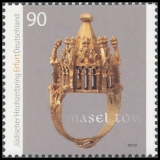 FRG MiNo. 2784 ** Wedding ring from the Jewish treasure of Erfurt, MNH