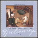 FRG MiNo. 2648 ** 200th birthday of Carl Spitzweg, MNH, self-adhesive
