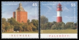 FRG MiNo. 2800-2801 set ** Lighthouses (X), MNH