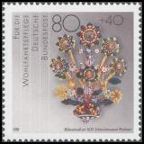 FRG MiNo. 1383-1386 set ** Welfare 1988: Gold and Silversmithing, MNH