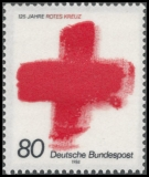 FRG MiNo. 1387 ** 125 years International Red Cross, MNH