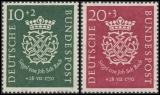 FRG Year 1950 ** MNH MiNo. 121-122