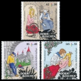FRG MiNo. 3132-3134 set ** Welfare 2015: Sleeping Beauty, MNH