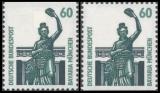FRG MiNo. 1341C/D **, Objects worth seeing (I): Bavaria Munich, C+D value, MNH