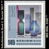 FRG MiNo. 3330 ** Self-adhesives Germany Q3 2017, MNH