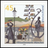 FRG MiNo. 2379 ** Viktualienmarkt Munich, MNH, self-adhesive, from stamp set