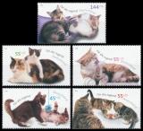FRG MiNo. 2402-2406 Set ** Youth in 2004: Cats, MNH