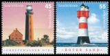 FRG MiNo. 2409-2410 Set ** Series Lighthouses, MNH