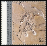 FRG MiNo. 2887 ** 150th anniversary of the discovery of Archaeopteryx, MNH