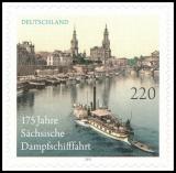 BRD MiNr. 2874 ** 175 J. Sächsische Dampfschifffahrt, postfrisch, selbstklebend