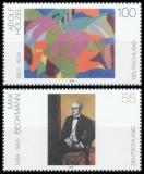 FRG MiNo. 2315-2316 Set ** German Painting of the XXth Century (VIII), MNH