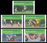 FRG MiNo. 2324-2328 set ** Sports Aid 2003: Football World Cup 2006, MNH