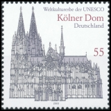 FRG MiNo. 2329 ** Cultural & natural heritage of mankind: Cologne Cathedral, MNH