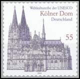 FRG MiNo. 2330 ** Cologne Cathedral, MNH, self-adhesive, from stamp box