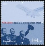 FRG MiNo. 2331 ** 75th Anniversary North Atlantic flight east-west direction,MNH