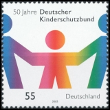 FRG MiNo. 2333 ** 50 Years German Child Protection Association, MNH