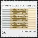 FRG MiNo. 2248 ** 50 years of Baden-Württemberg, MNH