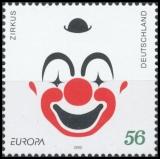 FRG MiNo. 2252 ** Europe 2002: Circus, MNH