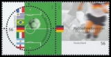 FRG MiNo. 2258/2259 ** World champion in the 20th century, printed together, MNH