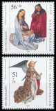 FRG MiNo. 2285-2286 set ** Christmas 2002: Rogier van der Weyden, MNH