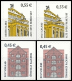 FRG MiNo. 2303 BC-2304 BD set ** attractions, self-adhesive, from stamp set, MNH