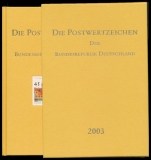 Yearbook 2003 Postage stamps of the Federal Republic of Germany without stamps