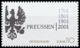 FRG MiNo. 2162 ** 300th anniversary founding of the Kingdom of Prussia, MNH