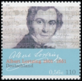 FRG MiNo. 2163 ** Albert Lortzings 200th birthday, MNH