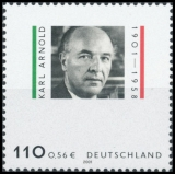 FRG MiNo. 2173 ** 100th birthday of Karl Arnold, MNH