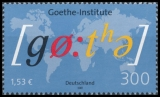 FRG MiNo. 2181 ** 50th anniversary of the reestablishment Goethe-Institut, MNH