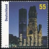 FRG MiNo. 2898 ** 50th anniversary inauguration Kaiser Wilhelm Memorial Church, MNH