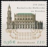 FRG MiNo. 2196 ** 250 years of the Catholic court church in Dresden, MNH