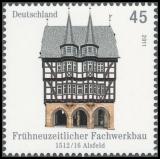 FRG MiNo. 2861-2862 set ** Half-timbered buildings in Germany (II), MNH