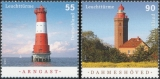 FRG MiNo. 2878-2879 set ** Lighthouses (XII), MNH