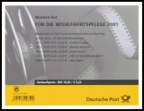 FRG MiNo. MH  46 (2218 C-2222 C) ** Welfare 2001, stamp set, MNH