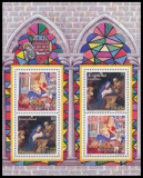 FRG MiNo. Block 56 (2226-2227) ** Christmas 2001, sheetlet, MNH