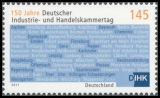 FRG MiNo. 2865 ** 150 years German Chamber of Commerce, MNH