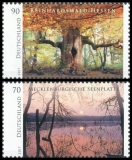 FRG MiNo. 3341-3342 Set ** Series Wild Germany, MNH