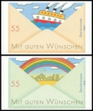FRG MiNo. 2848-2849 set ** Post: Greeting Stamps (IV), MNH, self-adhesive