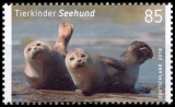 FRG MiNo. 3352-3353 set ** Series Animal children: Deer & Seal, MNH