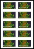 FRG MiNo. FB 72 (3356) ** Gravitational waves, foil sheet, self-adhesive, MNH