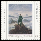 FRG MiNo. 2869 ** German painting (VI): Friedrich, MNH, self-adhesive, from box
