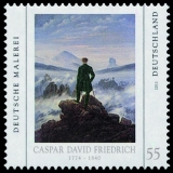 FRG MiNo. 2840 ** German painting (VI): Caspar David Friedrich, MNH