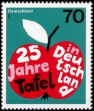FRG MiNo. 3361 ** 25 years table in Germany, MNH