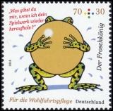 FRG MiNo. 3357-3359 set ** Welfare 2018: The Frog Prince, MNH